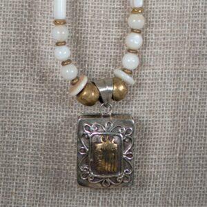 ghau prayer box necklace